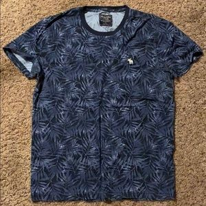 Men's Abercrombie Floral Print Tee, Small